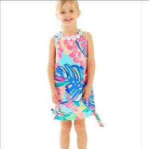 Lily Pulitzer Little Shift Dress Exotic Garden